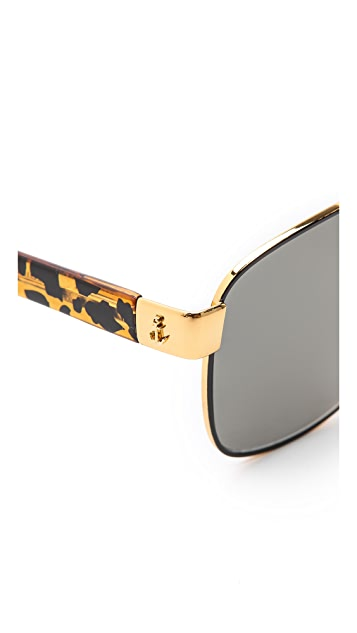 Sheriff&Cherry G1 Jungle Square Honey Sunglasses