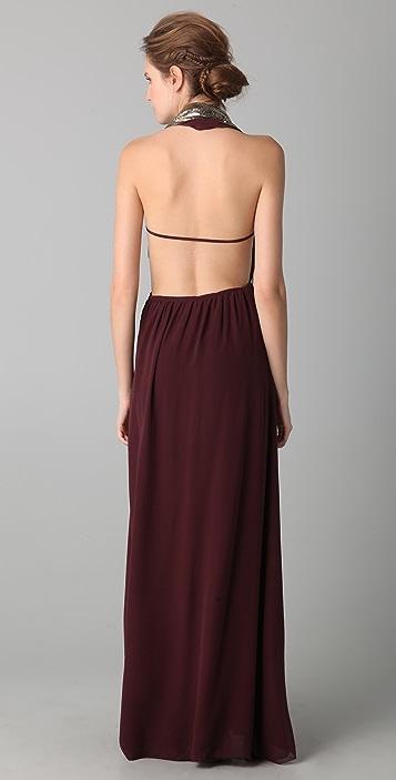 Sheri Bodell Halter Gown