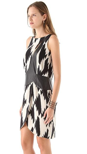 Sheri Bodell Spiked Houndstooth Dress