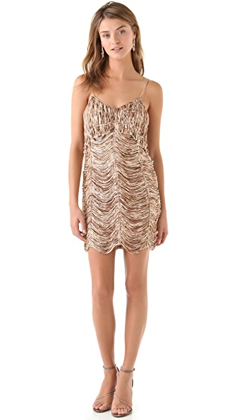 Sheri Bodell McCoy Draped Slip Dress