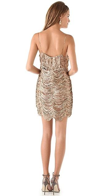 Sheri Bodell McCoy Draped Slip Dress