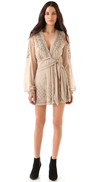 Sheri Bodell Carraway Beaded Mini Dress