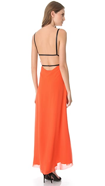 Sheri Bodell Harness Maxi Gown