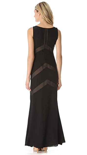Sheri Bodell Illusion Gown