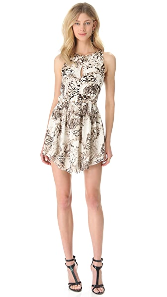 Sheri Bodell Spike Stud Minim Dress