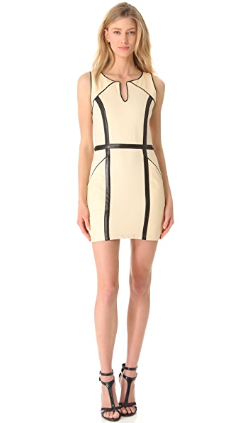 Sheri Bodell Titus Paneled Shift Dress