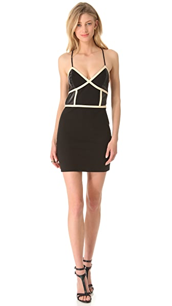 Sheri Bodell Isidore Paneled Slip Dress
