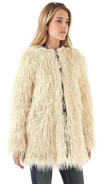 Shine Zulma Faux Fur Coat