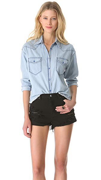Shine Falonne Denim Shirt
