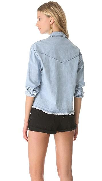 Shine Falonne Denim Shirt