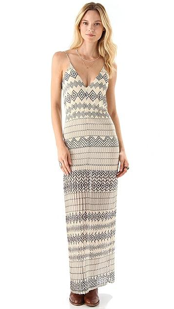 Shona Joy Tracked You Down Maxi Dress