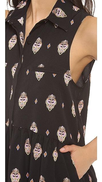 Shona Joy Spice Market Shirt Dress