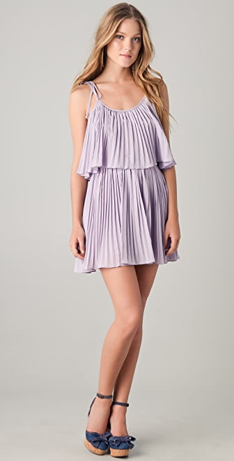 6 Shore Road by Pooja Gibson Pleated Mini Dress