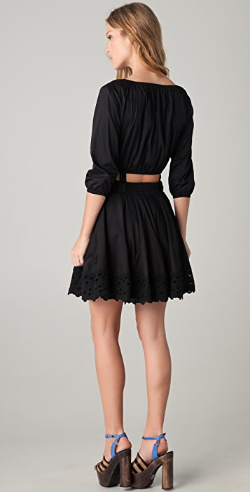 6 Shore Road East End Mini Dress with Removable Skirt