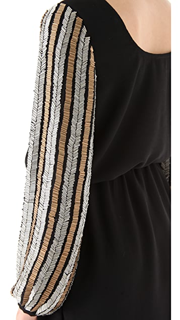 6 Shore Road Galaxy Beaded Dress