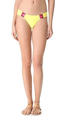 6 Shore Road Rockhouse Embroidered Bikini Bottoms