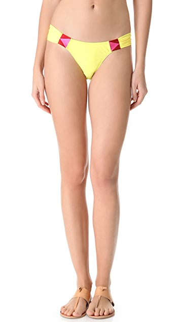 6 Shore Road Rockhouse Embroidered Bikini Bottoms