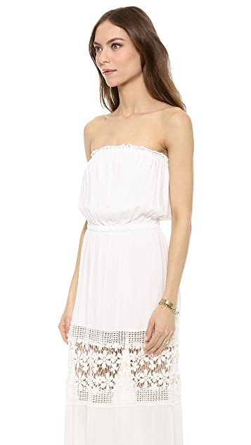 6 Shore Road Charlotte Cover Up Maxi Dress