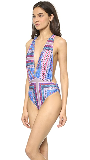 6 Shore Road Sunset One Piece Swimsuit