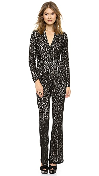 6 Shore Road by Pooja Sanctuary Lace Jumpsuit