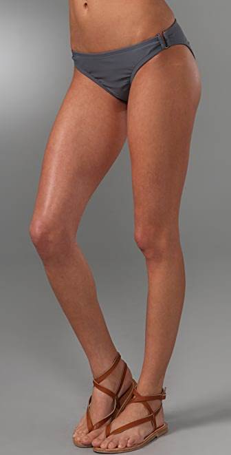 Shoshanna Solid U Bikini Bottoms