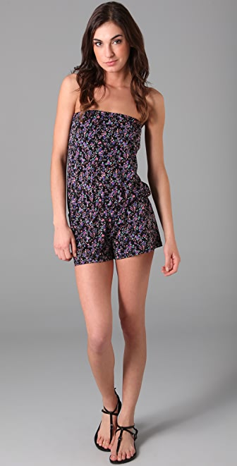 Shoshanna Charlotte Ronson for Shoshanna Romper Cover Up