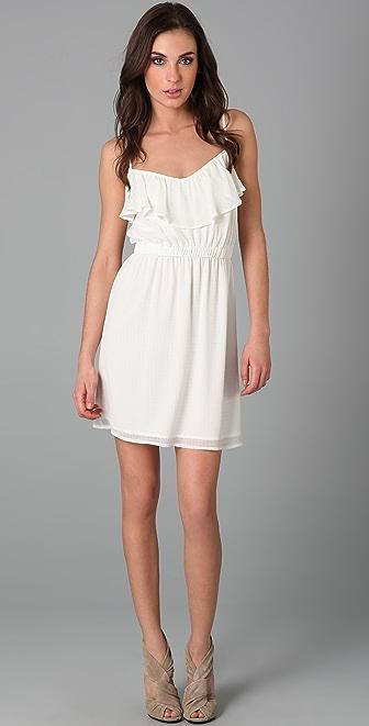 Shoshanna Ruffle Cami Dress