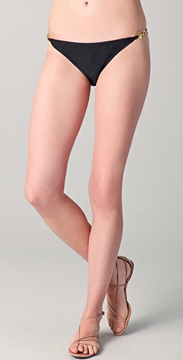 Shoshanna Solid Trim Bikini Briefs