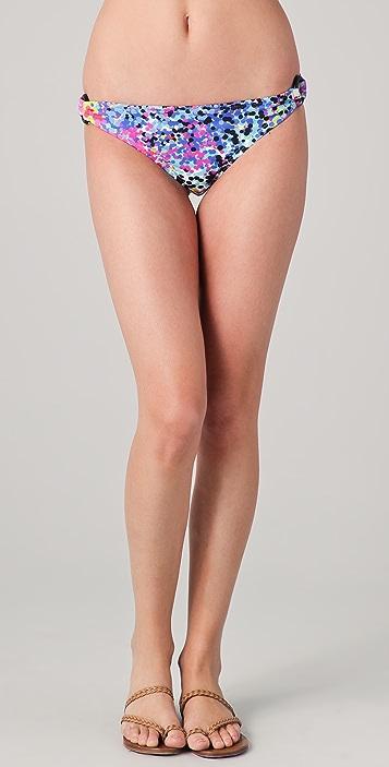 Shoshanna Multi Dot Ring Bikini Bottoms