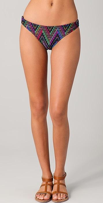 Shoshanna Aztec Summer U Bikini Briefs