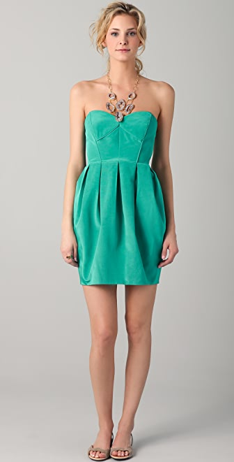 Shoshanna Jane Strapless Dress