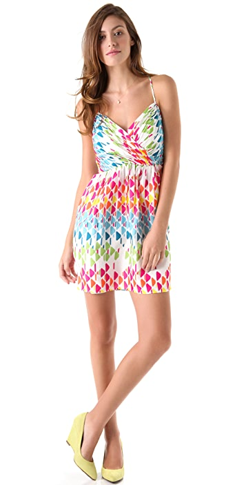 Shoshanna Mia Print Dress