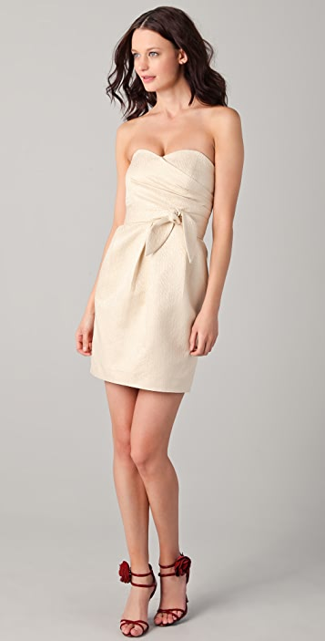 Shoshanna Sylvie Strapless Dress