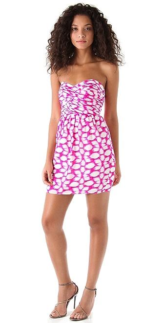 Shoshanna Zoe Strapless Dress