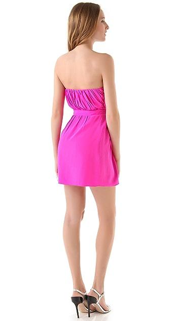 Shoshanna Courtney Strapless Dress