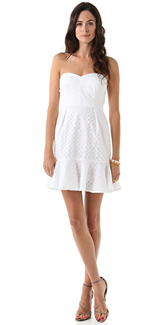 Shoshanna Meredith Eyelet Dress
