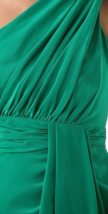 Shoshanna Nadalia One Shoulder Dress