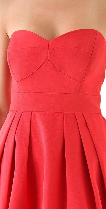 Shoshanna Megan Strapless Dress