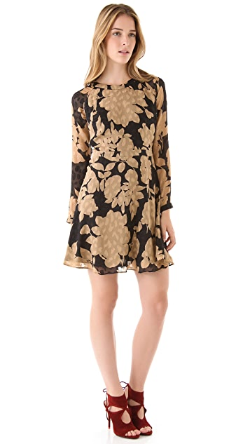 Shoshanna Carla Floral Dress