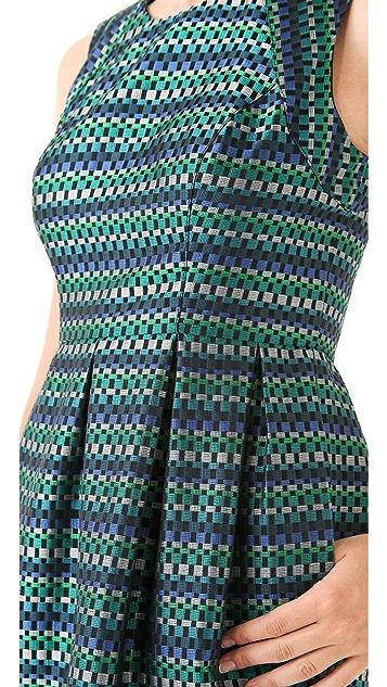 Shoshanna Veronica Jacquard Dress