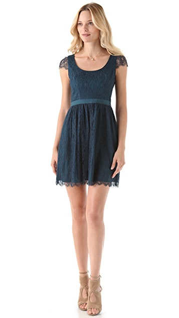 Shoshanna Lace Risa Dress