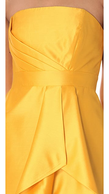 Shoshanna Orly Strapless Dress