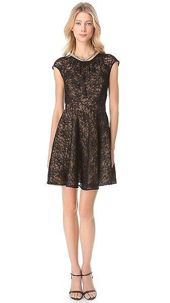 Shoshanna Lace Heidi Dress