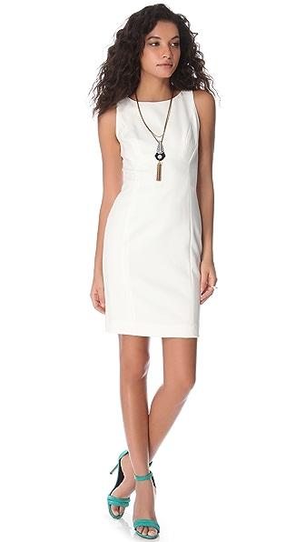 Shoshanna Diana Crepe Sheath Dress