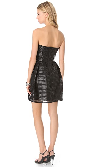 Shoshanna Val Strapless Dress