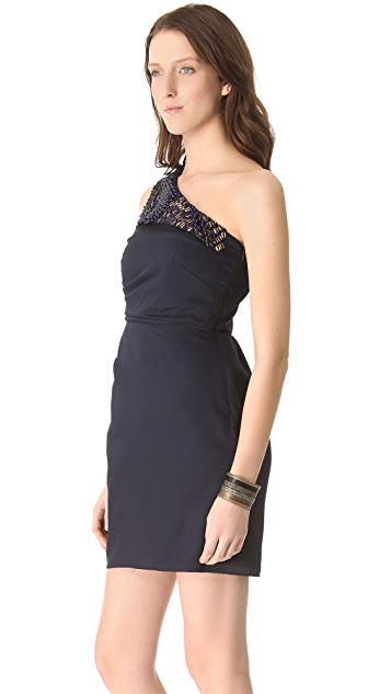 Shoshanna Beaded Lydia Dress