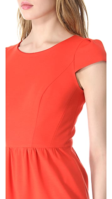 Shoshanna Antonia Cap Sleeve Dress