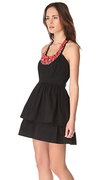Shoshanna Beaded Allegra Dress