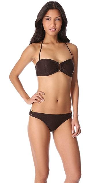Shoshanna Melbourne Bandeau Bikini Top