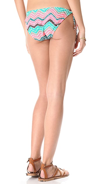 Shoshanna Ionian Mosaic String Bikini Bottoms